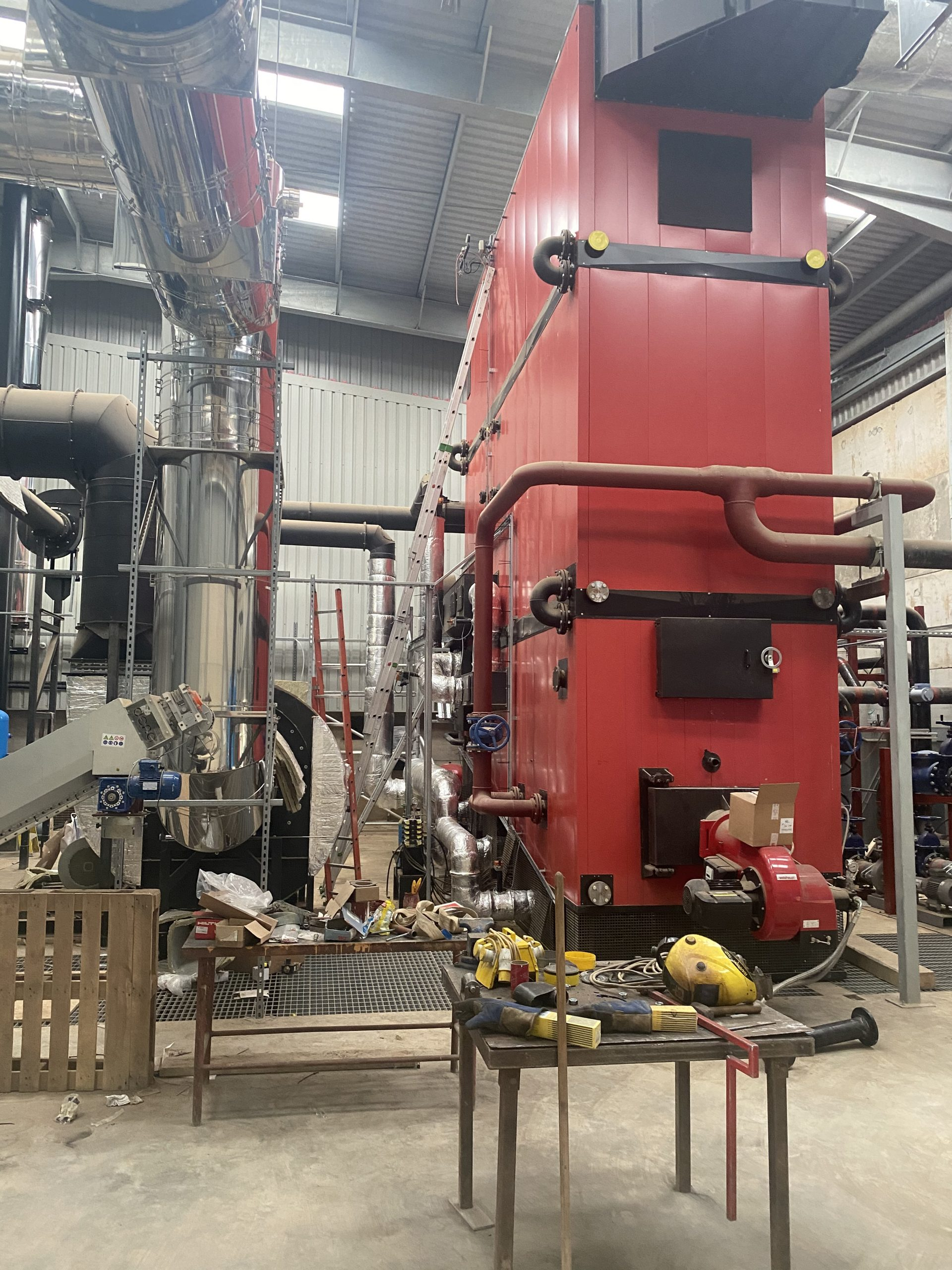 Bio Mass Boiler East Yorkshire