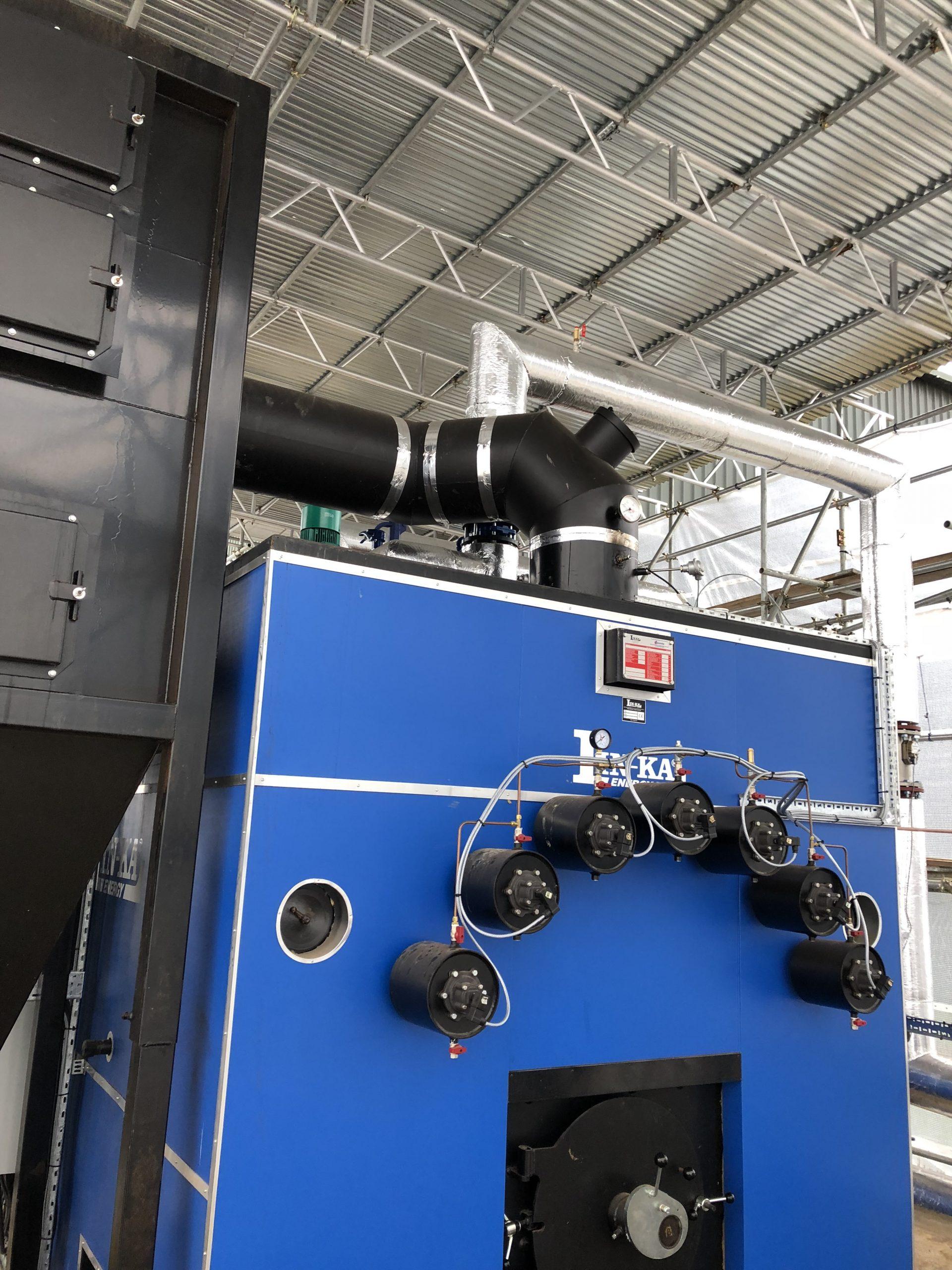 Bio Mass boiler install Alconbury